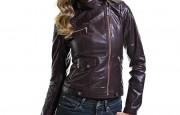 Bayan Deri Ceket Modelleri