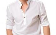 Erkek beyaz gömlek modelleri