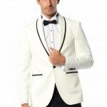 beyaz renk 2016 Damat Takım Elbise