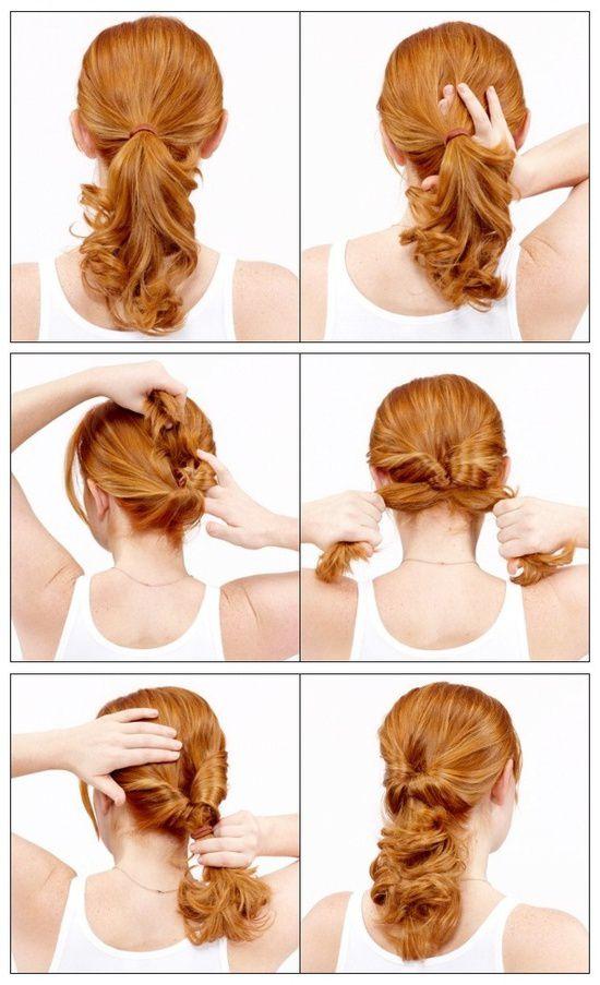 Какую можно сделать прическу своими руками на длинные волосы 90