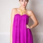 mor renkte Hamile Kıyafetleri