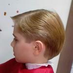 sarışın Erkek Çocuk Saç Modelleri