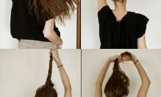 Kolay Yapılan Saç Modelleri