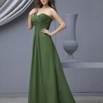 yeşil Zarif Abiye Modelleri