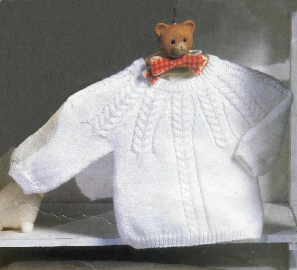Вязание спицами для детей крупная вязка