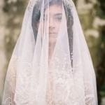 dantelli Rahibe Duvak Modelleri